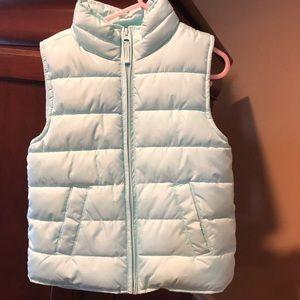 Children's Place fleece vest never wore